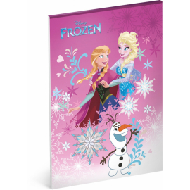 Notepad Frozen, A4, unlined