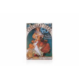 Cedule Alfons Mucha – Chocolat Ideal, 15 x 21 cm