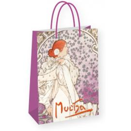 Gift bag Alfons Mucha – La Dame, medium