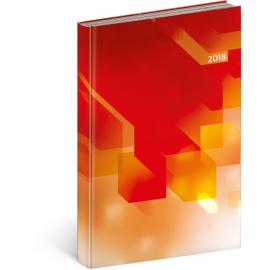 Denní diář Cambio – Pixel 2018, 15 x 21 cm, A5