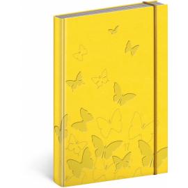 Denní diář Vivella speciál 2017, žlutý, 11 x 17 cm, B6