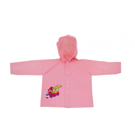 Children raincoat Kouzelná školka, pink, 5-6 years