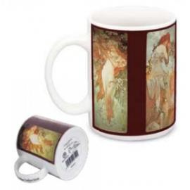 Mug Alfons Mucha – The Seasons