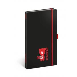Pocket diary Teribear 2018, 9 x 15,5 cm