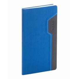 Kapesní diář Thun 2017, modročerný, 9 x 15,5 cm