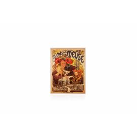 Magnet Alfons Mucha - Bieres, 6 x 8 cm