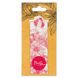 Magnetic bookmark Alfons Mucha – Ruby, Fresh Collection