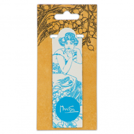 Magnetic bookmark Alfons Mucha – Topaz, Fresh Collection