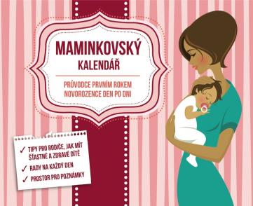 Maminkovský kalendář, 13,5 x 11 cm