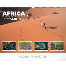 Nástěnný kalendář Afrika ze vzduchu 2018, 48 x 33 cm