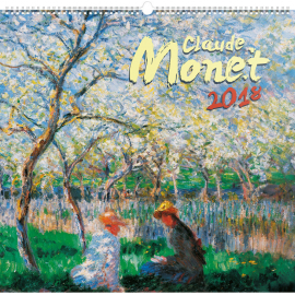 Wall calendar Claude Monet 2018, 48 x 46 cm