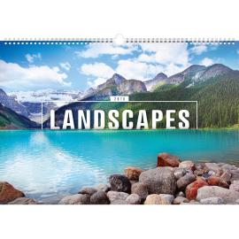 Wall calendar Landscapes 2018, 48 x 33 cm