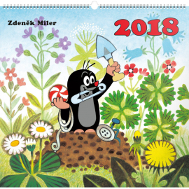 Wall calendar The Little Mole 2018, 48 x 46 cm