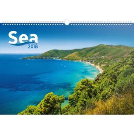 Nástěnný kalendář Moře 2018, 48 x 33 cm