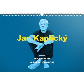 Wall calendar Personal by Alžběta Jungrová – Jan Kaplický 2018, 48 x 33 cm