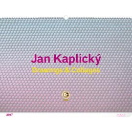 Nástěnný kalendář The Drawings – Jan Kaplický 2017, 64 x 45 cm