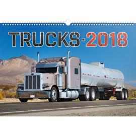 Wall calendar Trucks 2018, 48 x 33 cm