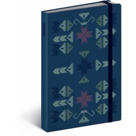 Notes Kaleidoskop, linkovaný, 10,5 x 15,8 cm