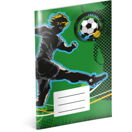 Notepad Fotball, A6, 20 sheets, lined