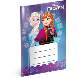 Notepad Frozen, notepad A6, 20 sheets, lined
