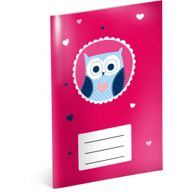 Notepad Little Owls, A6, 20 sheets, lined