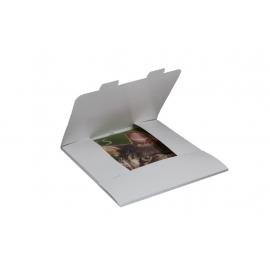 Obálka dárková na kalendáře 30x30 cm - bílá, balení 3 kusy