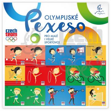 Pexeso na archu Český olympijský tým