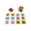 Pexeso Ovečka Shaun SK, s výučbou angličtiny, 36 kartiček v krabičce