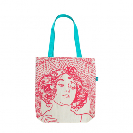 Canvas bag Alfons Mucha – Ruby, Fresh Collection