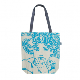 Canvas bag Alfons Mucha – Topaz, Fresh Collection
