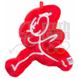 Plushtoy Czech team – Maskot Emil, red