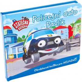 Board book - Policejní auto Pavlík