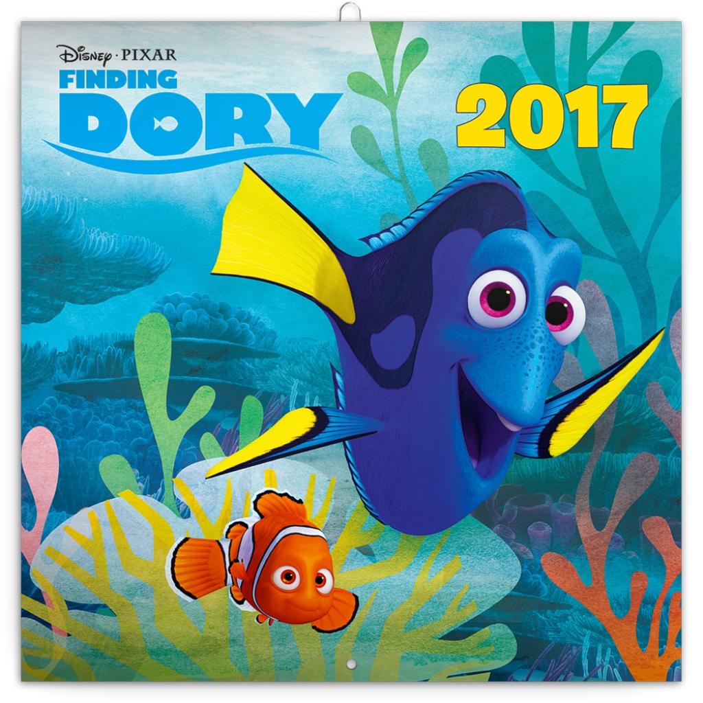 Grid calendar Finding Dory 2017, DIY: memory game, 30 x 30 ...