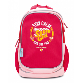 Pre-school backpack Supergirl – STAY CALM