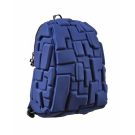 Školní batoh MadPax Blok střední, tmavě modrý