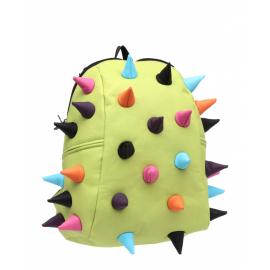 Školní batoh MadPax Spiketus Rex střední, světle zelený multi