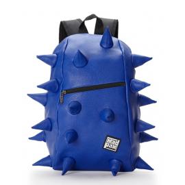 Školní batoh MadPax Spiketus Rex velký, s předním zipem, modrý