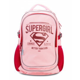 Large backpack with rain poncho Supergirl – ORIGINAL