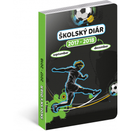 School diary Fotbal SK (september 2017 – december 2018), 9,8 × 14,5 cm