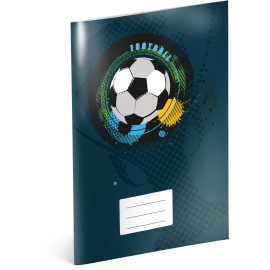 Exercise book Fotball, A4, 40 sheets, squared