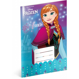 Exercise book Frozen – Flower, A5, 20 sheets, lined