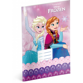 Exercise book Frozen – Pink, A4, 20 sheets, unlined