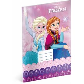 Školní sešit Frozen – Ledové království Pink, A4, 20 listů, nelinkovaný