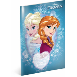 Exercise book Frozen – Sisters, A5, 40 sheets, squared