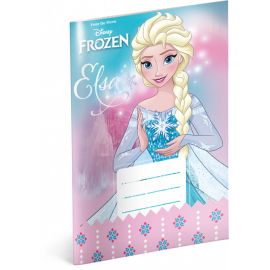Exercise book Frozen – Star, A5, 20 sheets, unlined