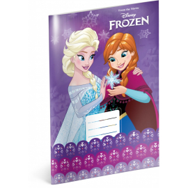 Exercise book Frozen – Violet, A4, 20 sheets, lined
