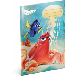 Exercise book Finding Dory – Hank, A5, 40 sheets, lined