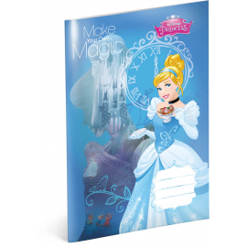 Exercise book Princess – Cinderella, A4, 20 sheets, unlined