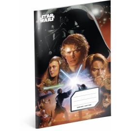 Exercise book Star Wars – Attack, A4, 40 sheets, unlined
