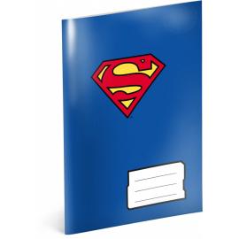Školní sešit Superman – Heart, A5, 40 listů, linkovaný